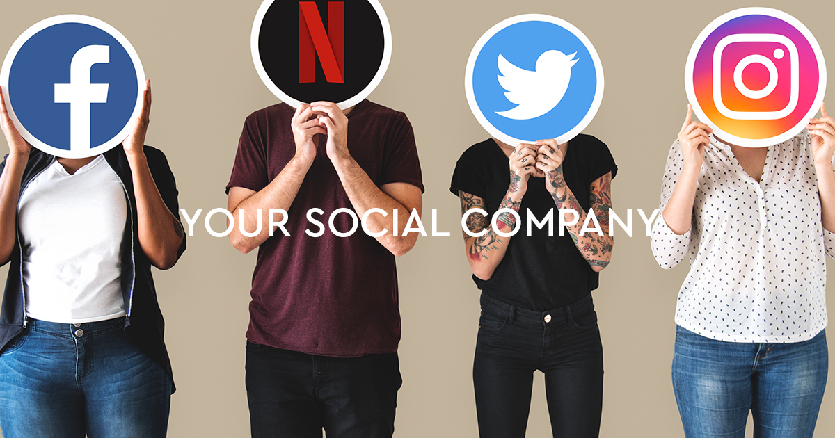 la tua azienda sui social